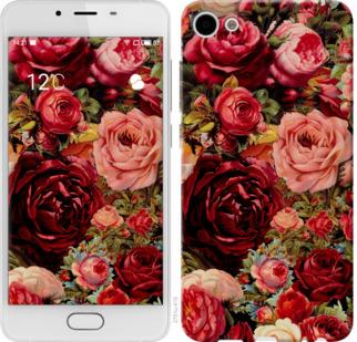 Чехол на Meizu U10 Цветущие розы