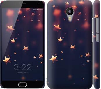 Чехол на Meizu M2 Note Падающие звезды
