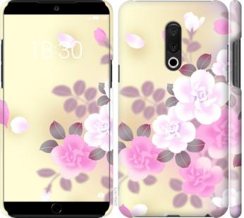 Чехол на Meizu 15 Plus Японские цветы