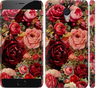 Чехол на Meizu M3 Note Цветущие розы