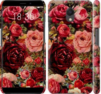 Чехол на Meizu M6s Цветущие розы