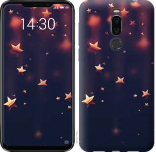 Чехол на Meizu X8 Падающие звезды