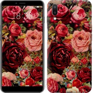 Чехол на Meizu E3 Цветущие розы