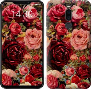 Чехол на Meizu X8 Цветущие розы