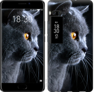 Чехол на Meizu Pro 7 Красивый кот