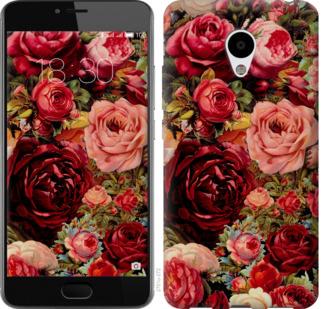 Чехол на Meizu M3s Цветущие розы