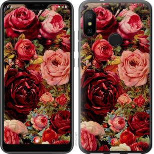 Чехол на Motorola One Цветущие розы