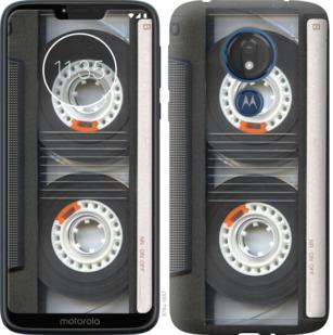 Чехол на Motorola Moto G7 Power Кассета