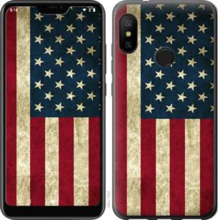 Чехол на Motorola One Флаг США