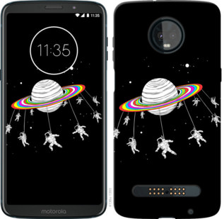 Чехол на Motorola Moto Z3 Play Лунная карусель