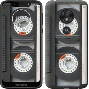 Чехол на Motorola Moto G7 Play Кассета