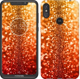 Чехол на Motorola One Power Звездная пыль