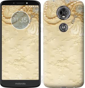 Чехол на Motorola Moto E5 Plus Кружевной орнамент