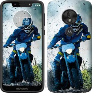 Чехол на Motorola Moto G7 Play Мотокросс