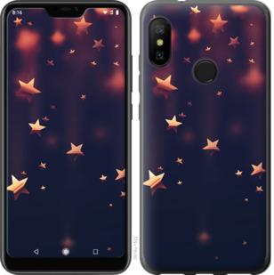 Чехол на Motorola One Падающие звезды
