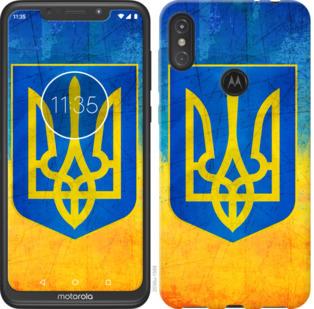 Чехол на Motorola One Power Герб Украины