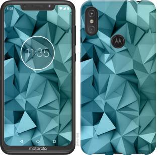 Чехол на Motorola One Power Геометрический узор v2
