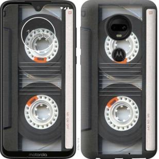 Чехол на Motorola Moto G7 Кассета