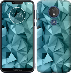 Чехол на Motorola Moto G7 Power Геометрический узор v2
