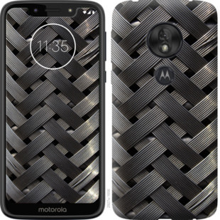 Чехол на Motorola Moto G7 Play Металлические фоны