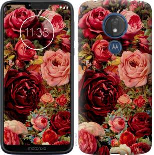 Чехол на Motorola Moto G7 Power Цветущие розы
