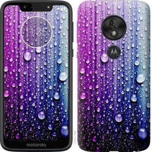 Чехол на Motorola Moto G7 Play Капли воды