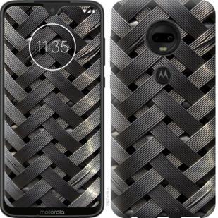 Чехол на Motorola Moto G7 Металлические фоны