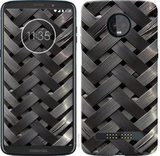 Чехол на Motorola Moto Z3 Play Металлические фоны