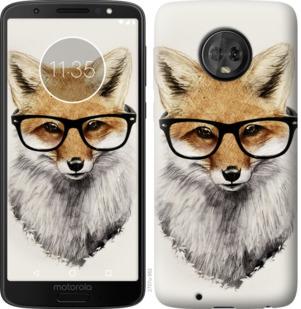 Чехол на Motorola Moto G6 Лис в очках