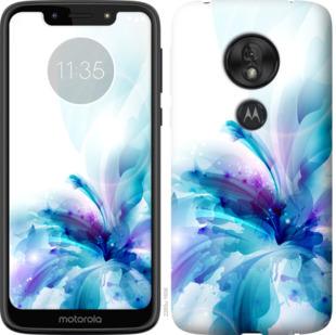 Чехол на Motorola Moto G7 Play цветок