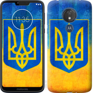 Чехол на Motorola Moto G7 Power Герб Украины
