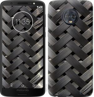 Чехол на Motorola Moto G6 Plus Металлические фоны