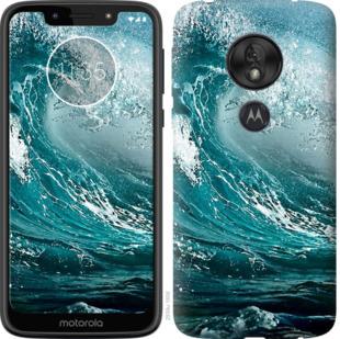 Чехол на Motorola Moto G7 Play Морская волна