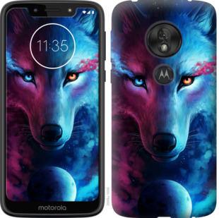 Чехол на Motorola Moto G7 Play Арт-волк