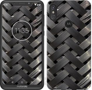 Чехол на Motorola One Power Металлические фоны