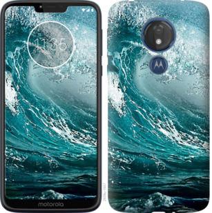 Чехол на Motorola Moto G7 Power Морская волна