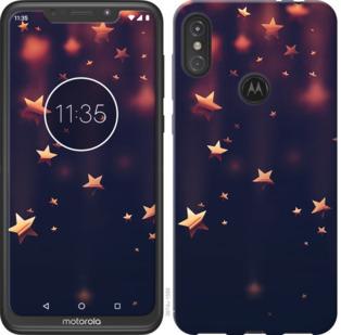 Чехол на Motorola One Power Падающие звезды