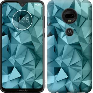 Чехол на Motorola Moto G7 Геометрический узор v2