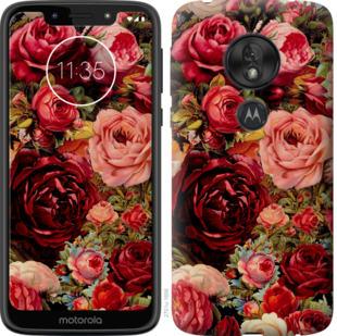 Чехол на Motorola Moto G7 Play Цветущие розы