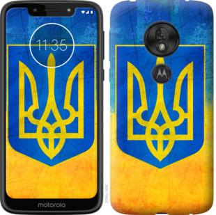 Чехол на Motorola Moto G7 Play Герб Украины