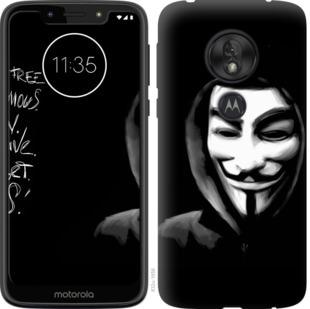 Чехол на Motorola Moto G7 Play Анонимус