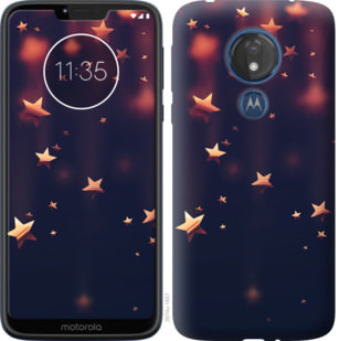 Чехол на Motorola Moto G7 Power Падающие звезды