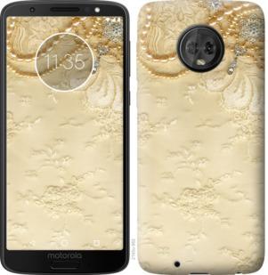 Чехол на Motorola Moto G6 Кружевной орнамент