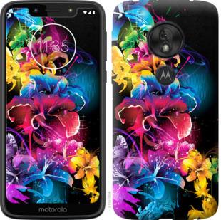 Чехол на Motorola Moto G7 Play Абстрактные цветы