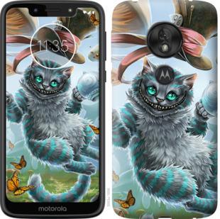 Чехол на Motorola Moto G7 Play Чеширский кот 2