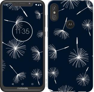 Чехол на Motorola One Power одуванчики