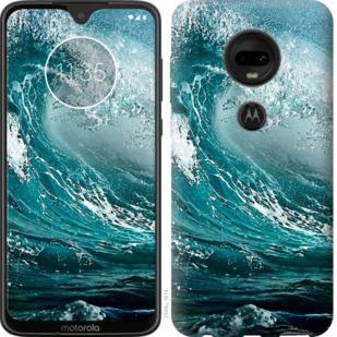Чехол на Motorola Moto G7 Морская волна