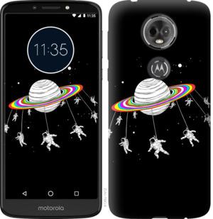 Чехол на Motorola Moto E5 Plus Лунная карусель