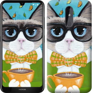 Чехол на Nokia 3.2 CatandCoffee