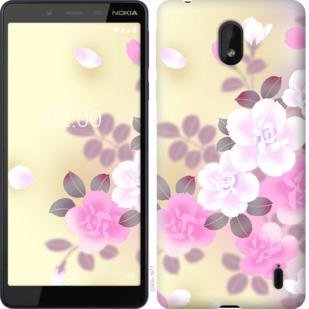 Чехол на Nokia 1 Plus Японские цветы